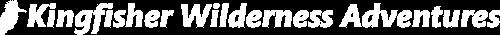 Kingfisher Wilderness Adventures Kayak Tours Logo